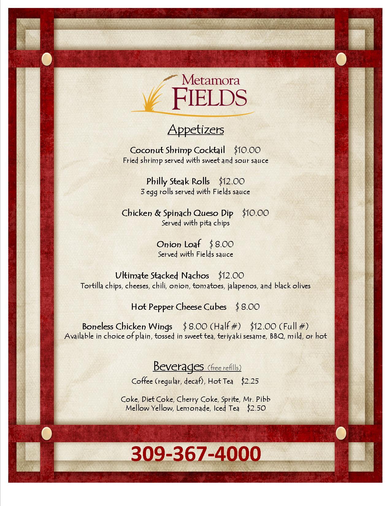brunch menu templates free